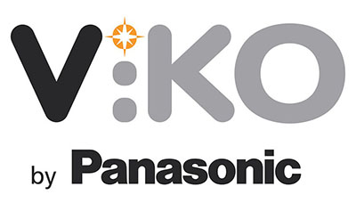 Viko by Panasonic, логотип, logo